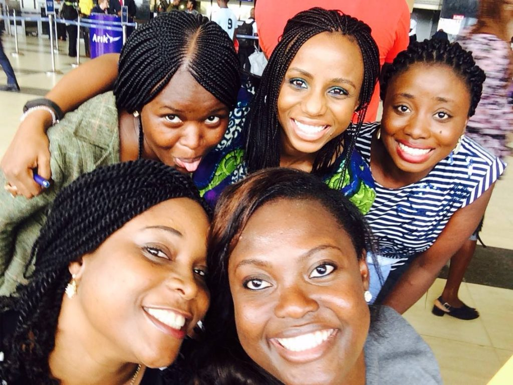 With some of the beautiful MWF Nigeria ladies