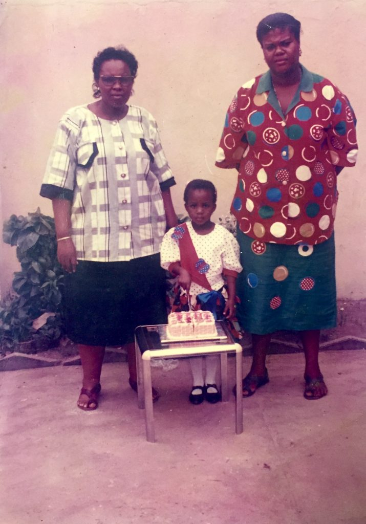 4th birthday - with Primary school Headmistress and Proprietress