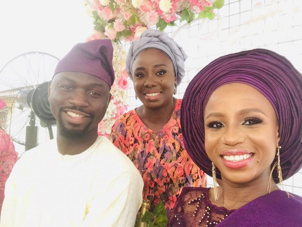 Kemi, Pelumi and Enitan - the lady who connected them